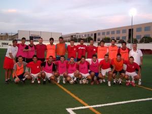Plantilla del Collerense 2009-2010, que jugará en Tercera División