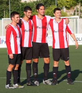 Los Cuatro Magnificos del Montuiri, se despiden del Fútbol en activo.