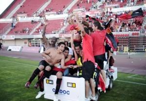 El Mallorca B vence al Soller