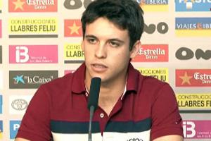 Felipe Mattioni presentado en el Ono Estadi