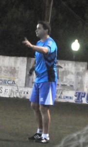 Pablo Asensio. El nuevo entrenador del At. Ciutadella