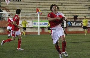 Raúl Garrido, uno de los capitanes del Ibiza