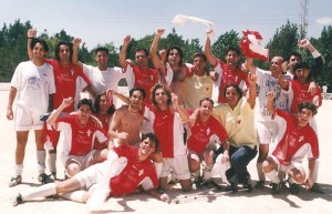 Este equipo fue campeón de 3ª Regional en la Temporada 2000/2001
