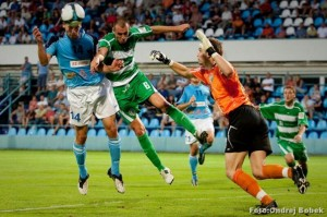 Juan Carlos Pozo en la liga de Eslovaquia