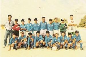 CD Algaida Infantil, Temp.94-95. Pulsar sobre la foto para ampliarla
