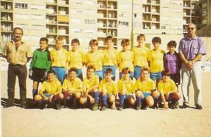 CD At. Camp Redo Independiente Benjamín CIM, temp.94-95. Pulsa sobre la foto para ampliarla