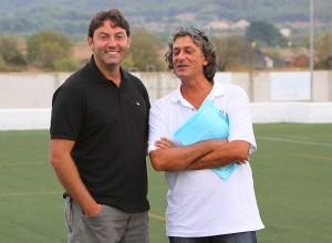 Toni burguera y Eugenio Mula