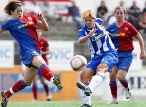 Noemi Rubio, La nueva jugadora del Barça es una de las mejores futbolistas de la Superliga.