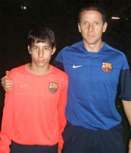 El FC Barcelona ficha al portero infantil Alberto Fernández