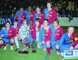 El FC Barcelona, campeón del Torneo de Arnedo