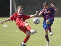 Jugada del Partido. Foto FC Barcelona.cat