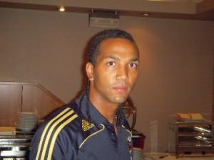 El jugador de la Real Sociedad Emilio Nsue ya se encuentra en la Selección Sub-21, a la que se ha incorporado en sustitución del barcelonista Bojan.