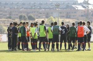 La Selección Sub-17 con Gines Melendez