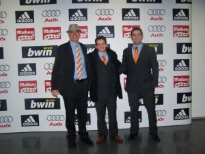 Trio arbitral Balear en el Madrid B - Racing B