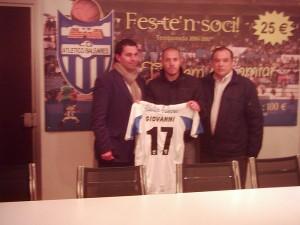 Giovanni nuevo jugador del At. Baleares