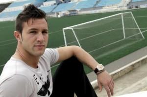 El jugador del Atl+etic Balears, Edu Moral. J. Morey