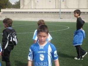 Jonathan, jugador destacado por su juego en el partido