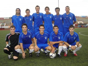 Plantilla de la Peña Deportiva B