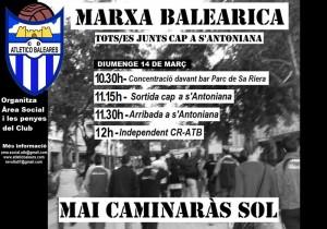 Cartel de la Marxa Balearica