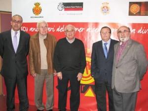 Roig, Buades, Forteza, Vidal y Llabrés en la presentación del acto