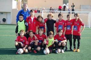 El Formentera alevín será el anfitrión del torneo internacional.  LUIS HERRERA
