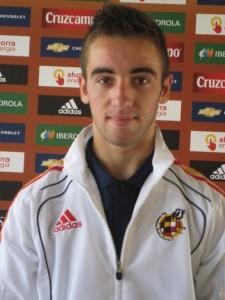 Sergi Darder con el uniforme de la Española