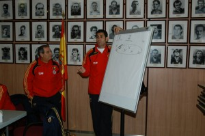 Convocatoria de Curso de Entrenador Nacional de Fútbol y Fútbol Sala-Nivel 3